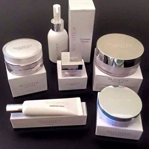 NLIGHTEN WHITENING SKIN CARE PRODUCTS