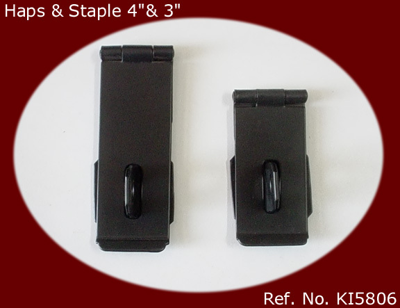 Hasp and Staples