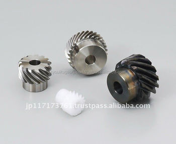 Helical gear Module 1.0 Stainless steel Made in Japan KG STOCK GEARS