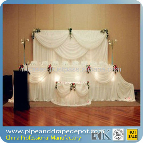 pipe and drape stands trade show exhibition booth