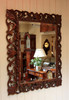 Wooden handmade Mirror Frames , wood carved picture frames , antique wood carved mirror frame , Luxury hand carved wood frames