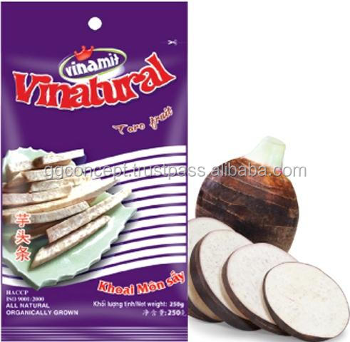 New product - Vinamit Taro Chips 250g Bag / Wholesale snack /snack food / Dried