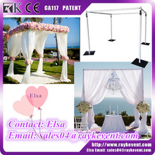 Ballroom wedding decoration ceiling drape used pipe and drape for sale