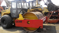 Used road roller used Dynapac compactor CA30D for sale