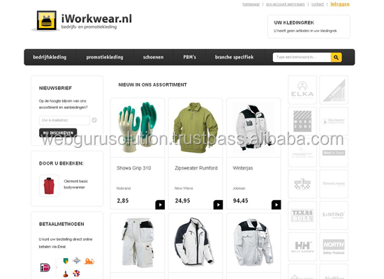 E commerce Website designing and development India Multifunctional Materials