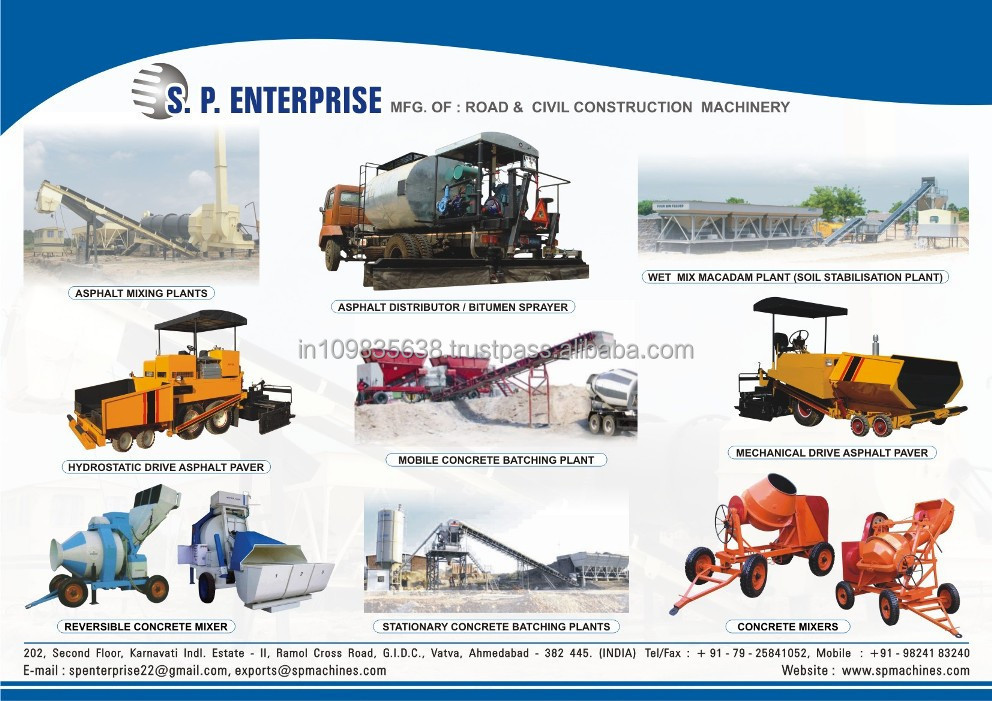 High quality Road Construction Machinery