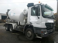 USED TRUCKS - MERCEDES-BENZ ACTROS 2636 7M3 CEMENT MIXER (LHD 4150)