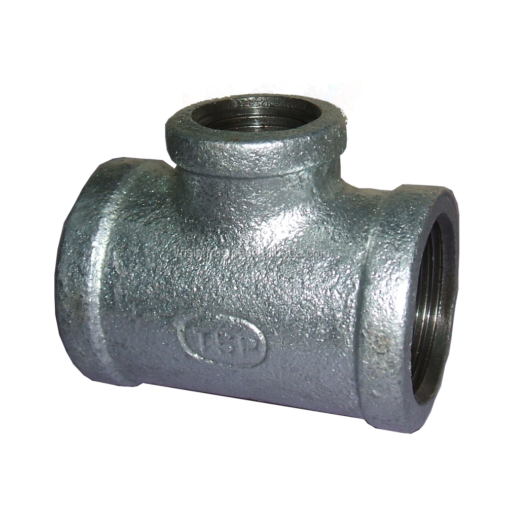 Reducing Tees Malleable Iron Pipe Fittings