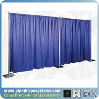 constmart hot sale event wedding aluminum backdrop stand extrusion pipe drape