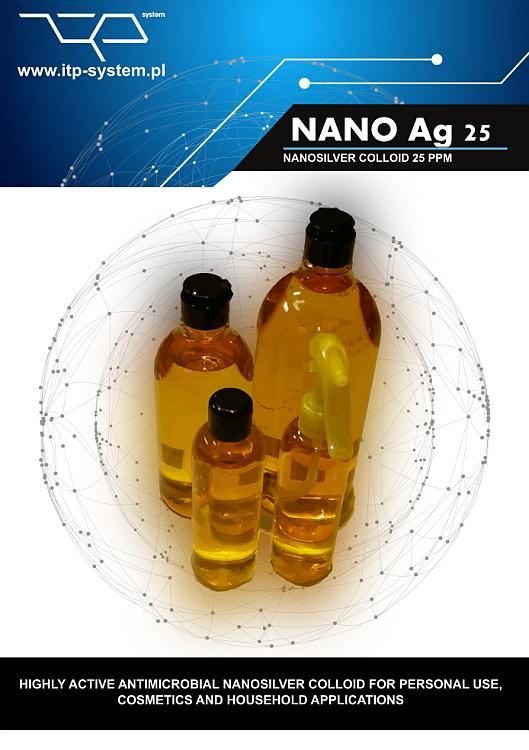 Nano Silver Colloid 25 ppm