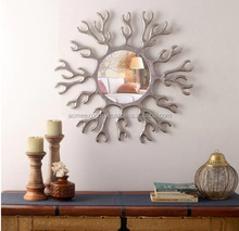Inadian Metal Wall Decorative Mirror for Home Decor