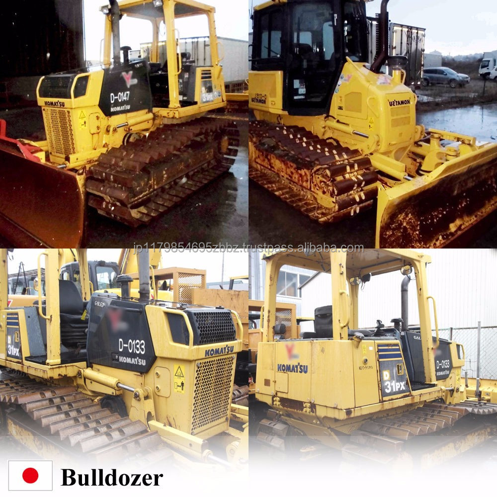 Hot-selling and Japanese used small Bulldozer for professional , spare parts also available