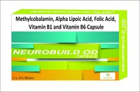 Methylcobalamin, Alpha Lipoic Acid, Folic Acid, Vitamin B1 and Vitamin B6 Capsule