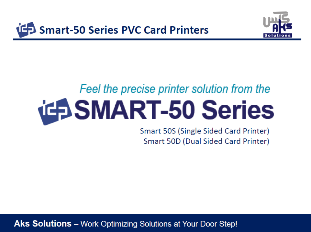 IDP Smart 50 - PVC Card Printer