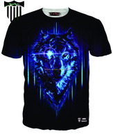 latest t shirt designs for men/latest sublimation printing t shirt/t shir men wear black & blue sublimate