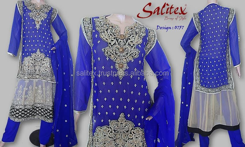 0757- Salitex Chiffon rajasthani lehenga choli fancy ladies suits lacha choli designs