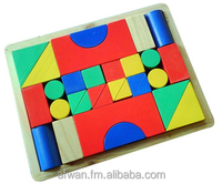 Kindergarten Wooden Blocks