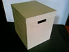 STORAGE BOX / DOCUMENT BOX WITH HANDLES