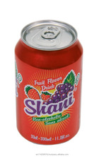 Shani fruit flavor drink canned 4x6x33cl