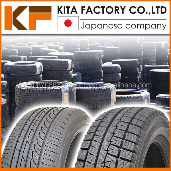 Various types of famous used car tire in wide range of sizes