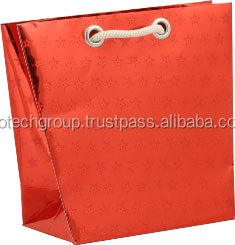metalizated shopping bags