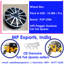Tuk Tuk Spare Parts Wheel Disc Ape Piaggio