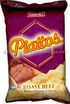 Piattos Snack Roasted Beef 25g / Snack Roasted Beef / Wholesale Health Snacks/ Wholesale Snack bag/Meat Snacks