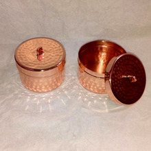 Copper candle cup metal soy candle jar, Copper Wax Tumbler For Candle