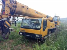 USED TRUCK CRANE QY25k-II, 25 ton truck crane for sale in China