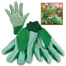 MENS LADIES GARDENING GLOVES RUBBER RUBBERISED GRIP COTTON WOMENS WORK / Work Gloves/Best quality bu taidoc