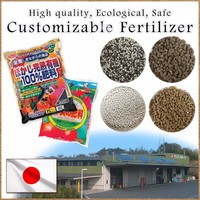 High grade and Best-selling costomizable grow more fertilizer with nutritious component made in Japan