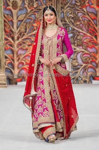 Pakistani Bridal Suit 2016