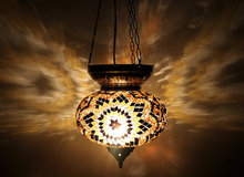 PB1 Lovely roof hanging mosaic lamp or pendant mosaic lamp
