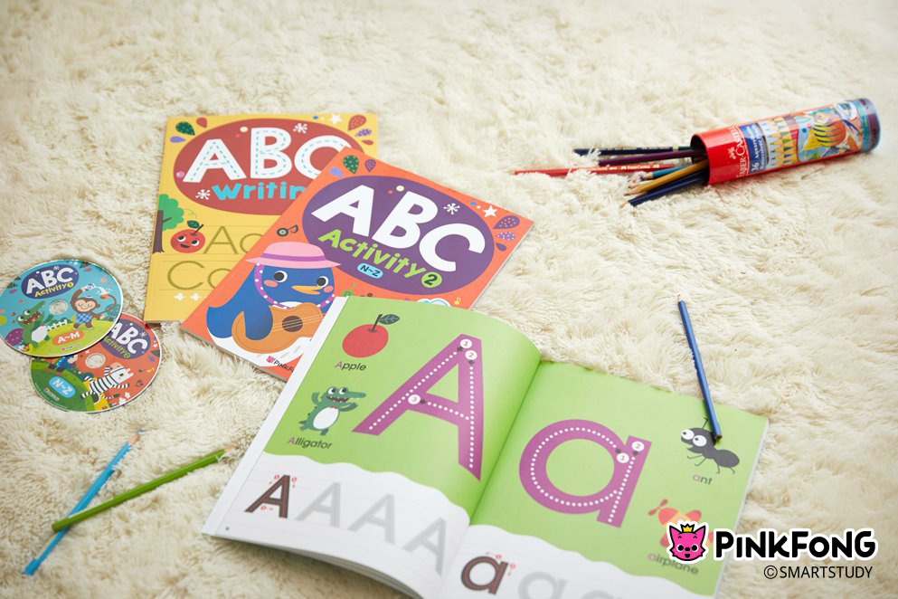 [PINKFONG] ABC Writing Activity with DVD Collection