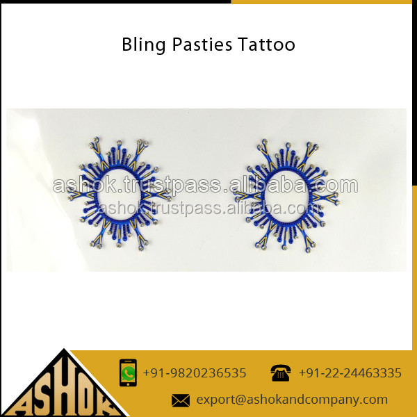 Custom Tattoos Sticker / Temporary Nipple Body Bellies Tattoos /