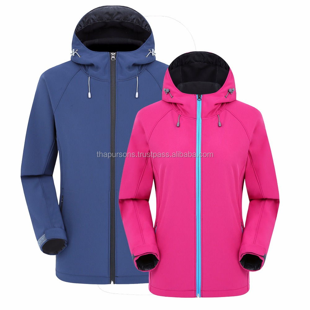 Fleece Softshell water-proof jackets for Europe market