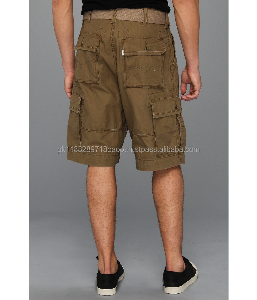 Custom made 100% Cotton /Quick Dry/Fashion Cargo Short For Summer