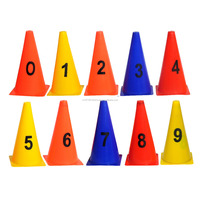 Marker Cones print with numbers
