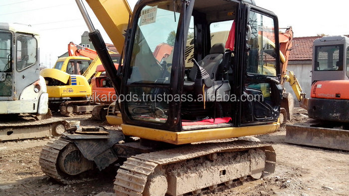 used caterpillar 307D excavator ,Japan origin, second hand CAT 307D excavator