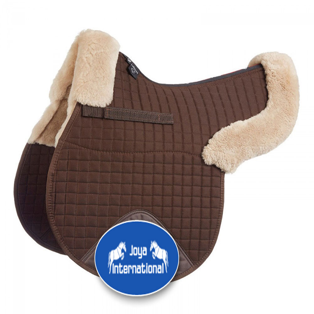 Sheepskin Saddle Pad/ sheepskin wool equestrian saddle pad/ horse riding pad, horse saddle pad and schabracke