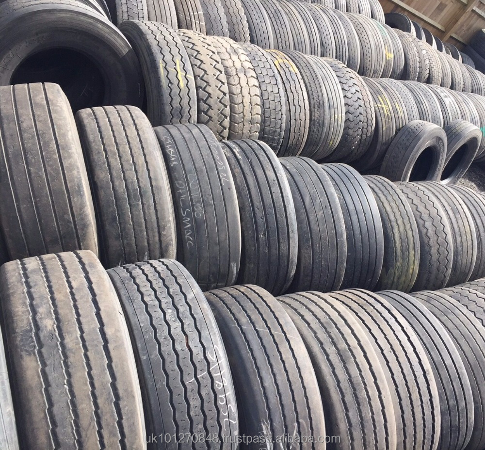 GOOD QUALITY LORRY USED TYRES