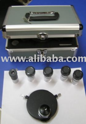 Plan Phase Contrast For Microscope Turret Type In Aluminum Carrying Case