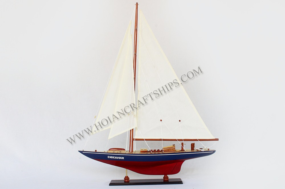 ENDEAVOUR SAILING YACHT, HIGH QUALITY MODEL FROM VIETNAM - HANDICRAFT PRODUCT