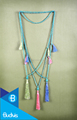Top Model Bali Long Beaded Tassel Necklaces Layered in Handmade
