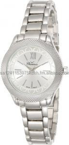 watch for ladies silver band and dial from Charisma watches new designs,steel design