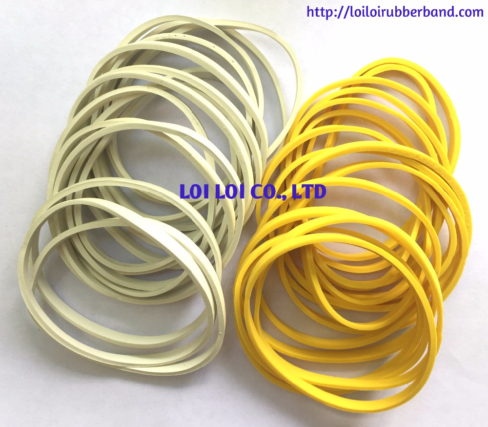 EPDM Natural rubber band manufacturers Solid Colored Rubber Band Wide bands with factory price