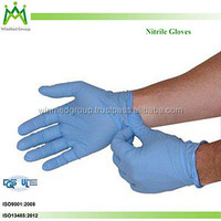 laboratory experiment medical exam Nitrile Gloves made in Malaysia