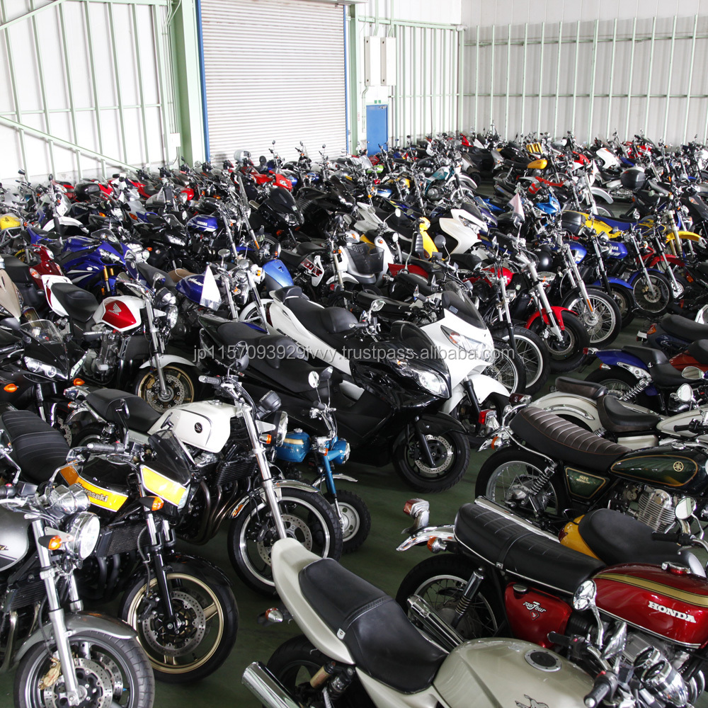 Rich stock and High-performance 250cc motorbikes with Good condition made in Japan