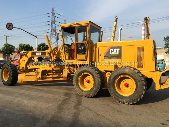 Used Grader CAT 140H for sale, second hand but high quality and cheap price, also CAT 140K HOT sale!