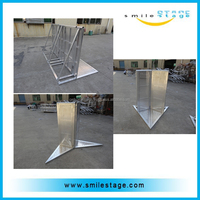 Aluminum Stage Barrier Fans Barrier Mobile Security Barriers
